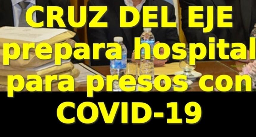 CRUZ DEL EJE PREPARA HOSPITAL PARA PRESOS CON COVID-19