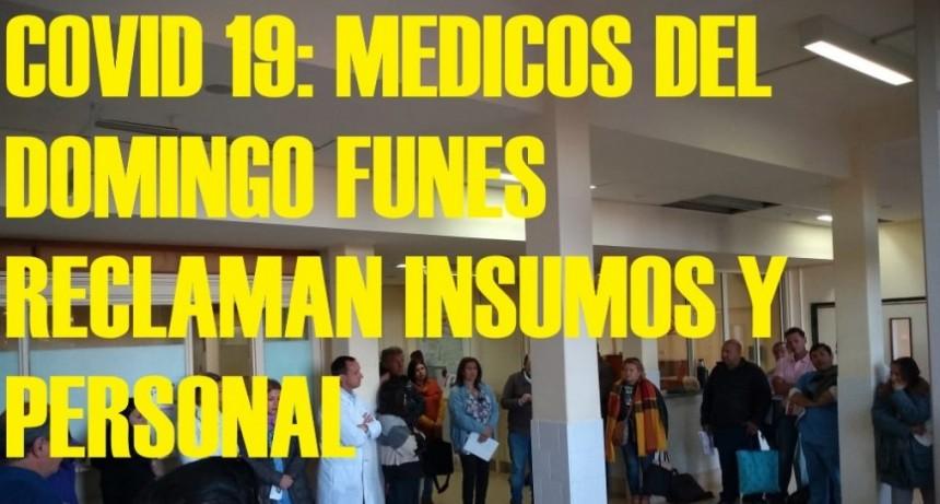 FUERTE RECLAMO DE PERSONAL DEL DOMINGO FUNES.