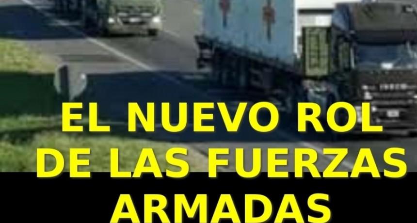 EL NUEVO ROL DE NUESTRAS FUERZAS ARMADAS ANTE EL ACTUAL ESCENARIO. Por Pablo Olmos.